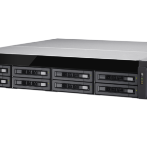 QNAP TS-EC880U-E3-4GE-R2  8-Bay, 2U Rack-mountable (rails included) NAS with 3.50 GHz Intel Xeon E CPU and 4GB RAM