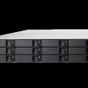 QNAP TS-1283XU-RP-E2124-8G 12-Bay, 2U Rack-mountable NAS with 3.30 GHz Intel Xeon E CPU and 8GB RAM