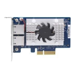 QNAP QXG-10G2T-107 Dual-port 10GbE Network Card