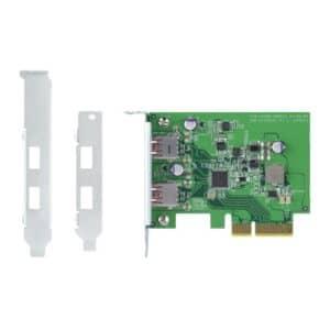 QNAP USB-U31A2P01 USB 3.1 Type-A Gen 2 Expansion Card