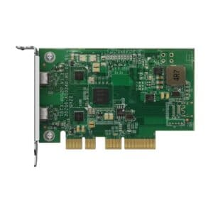 QNAP QXP-T32P Dual-port Thunderbolt 3 expansion card
